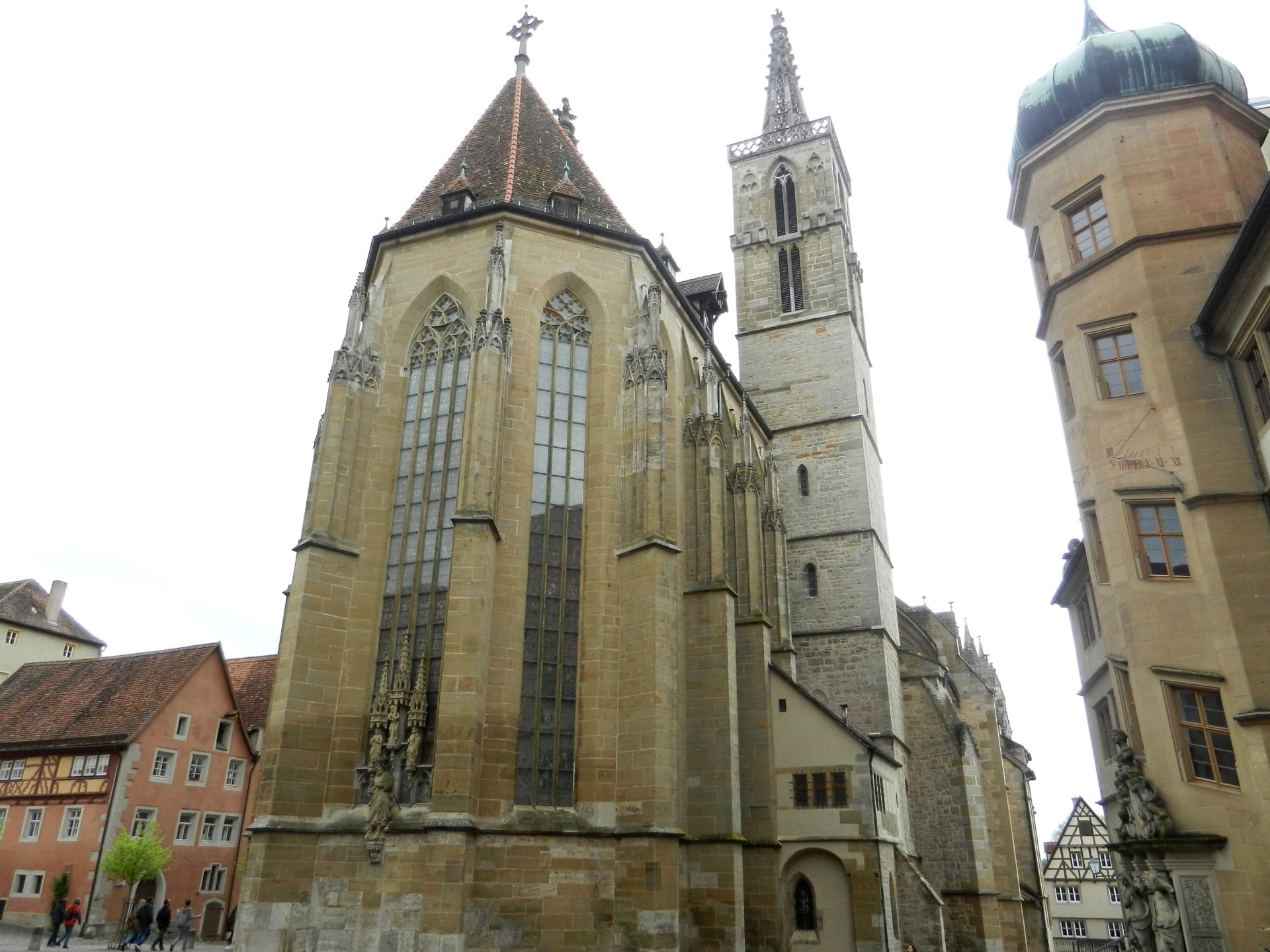 St Jacobs Church Rothenburg Germany The Incredibly Long
