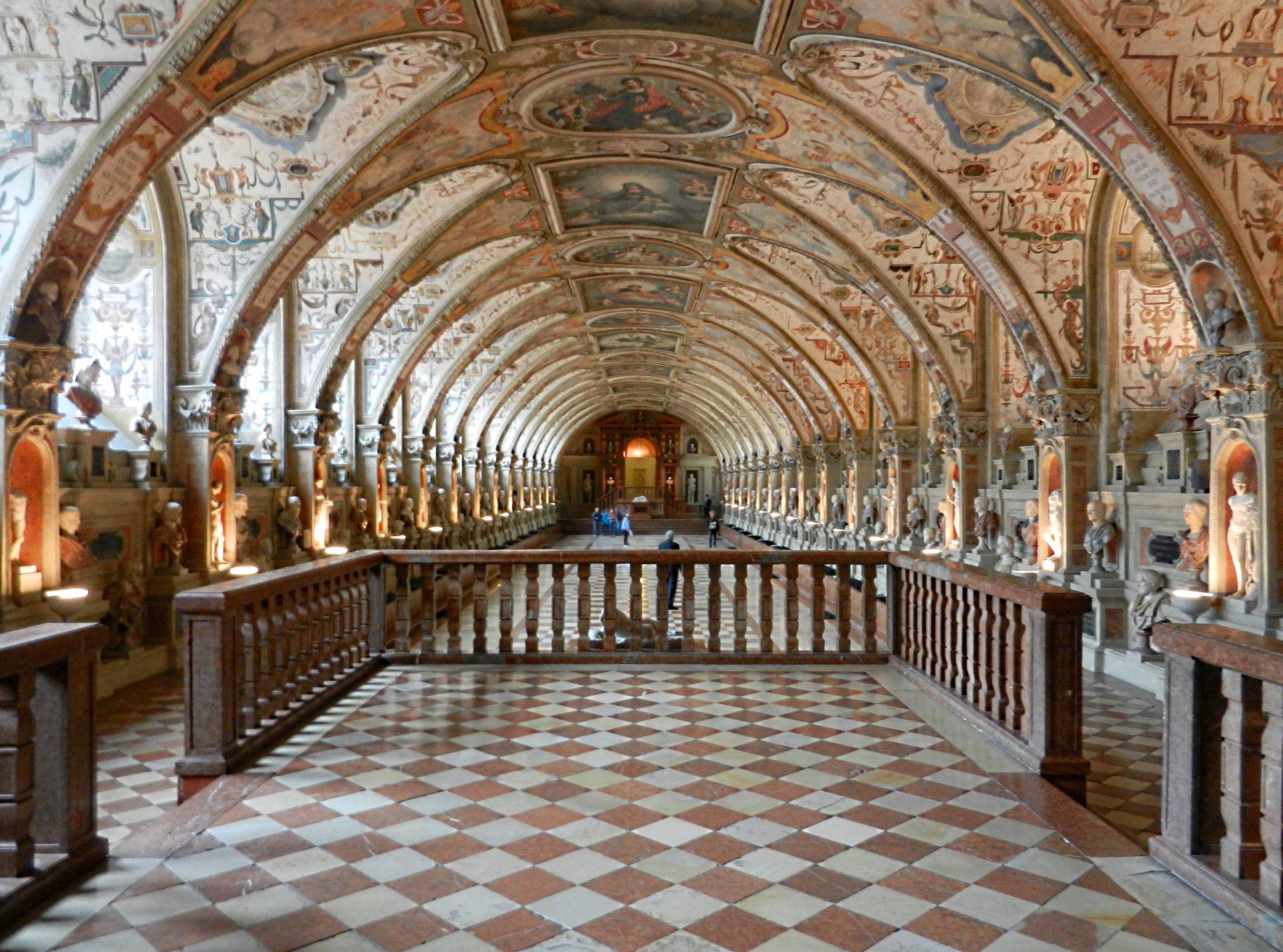 Antiquarium Munich Residenz Germany The Incredibly Long