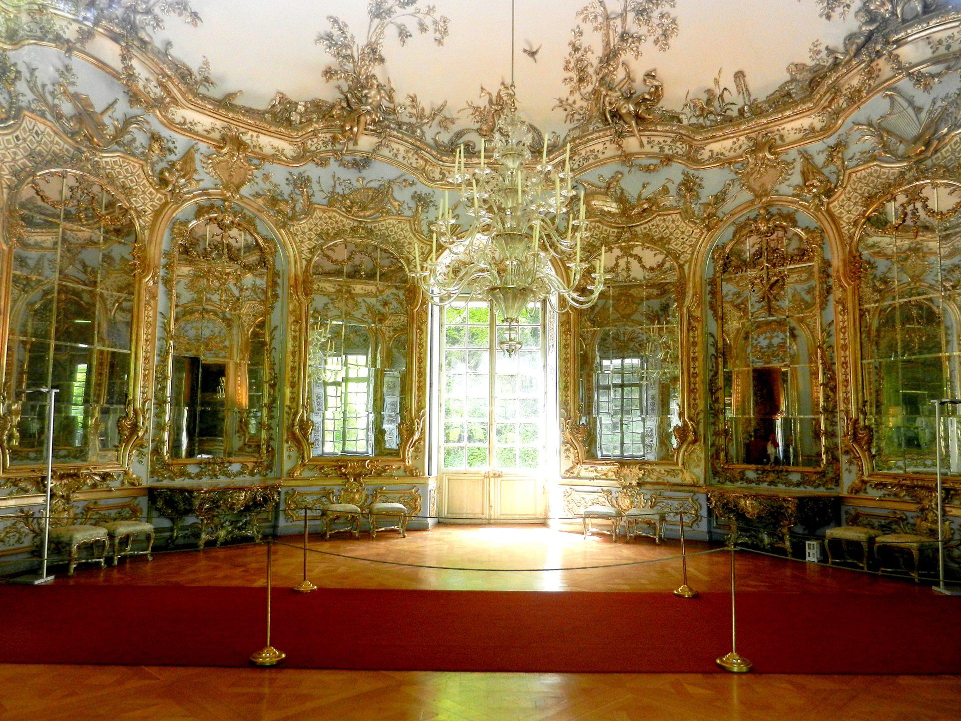 Hall Of Mirrors Amalienburg Nymphenburg Palace Munich