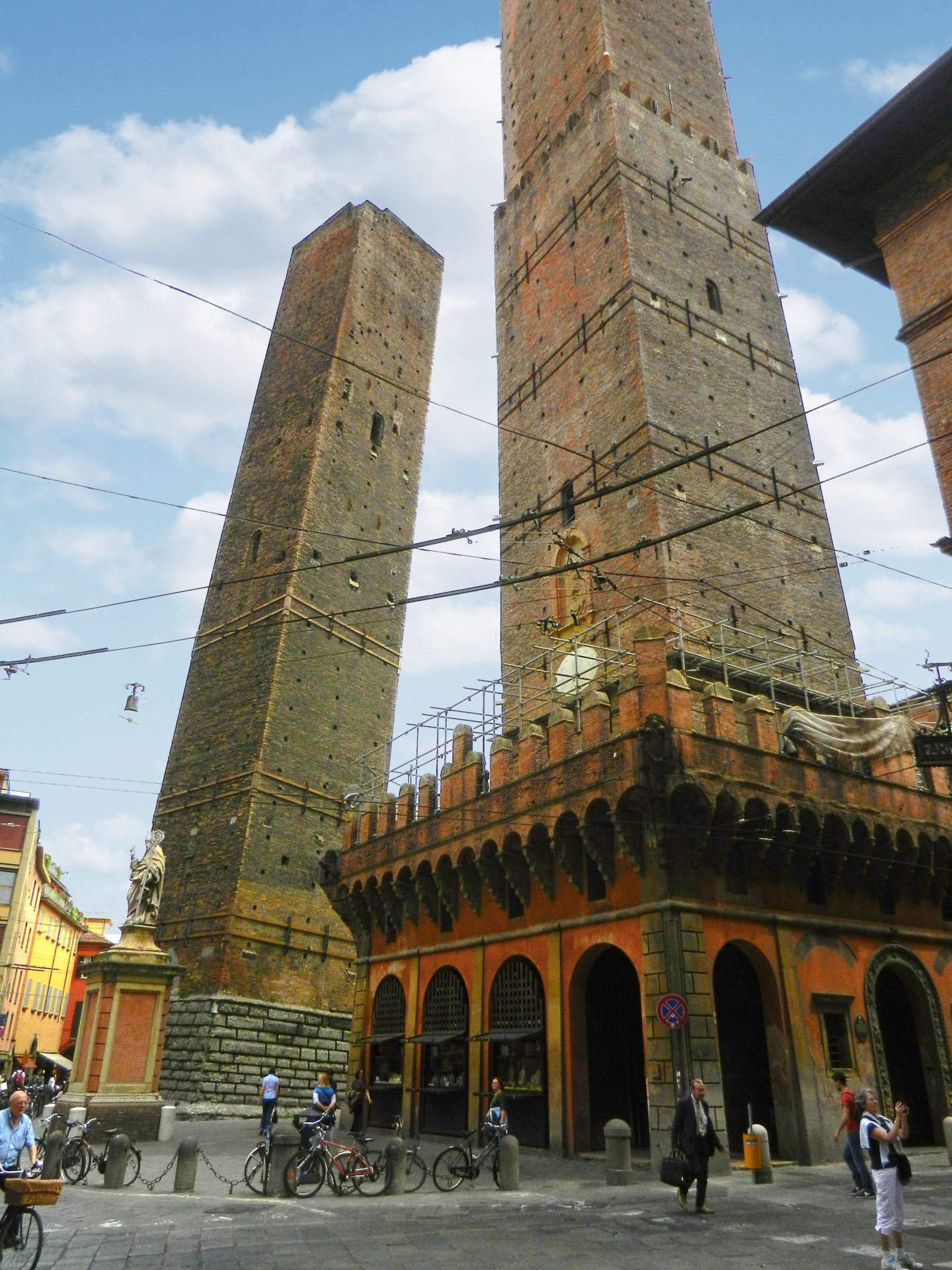 Two Towers, Bologna, Italy - The Incredibly Long Journey